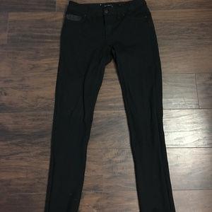 Calvin Klein Stretch Black Skinnys, Size 6